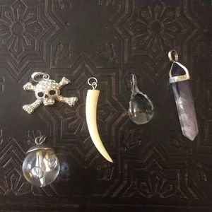 5 pendants bundle